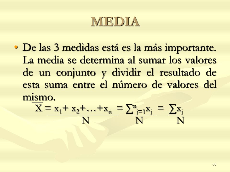 X = x1+ x2+…+xn = ∑nj=1xj = ∑xj