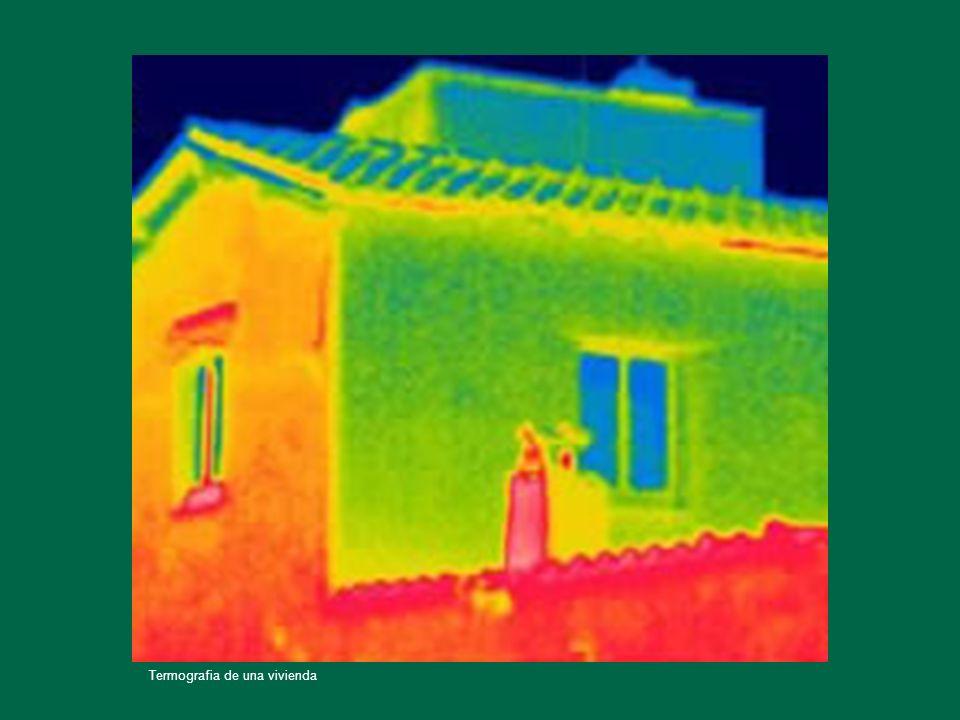 Termografia de una vivienda