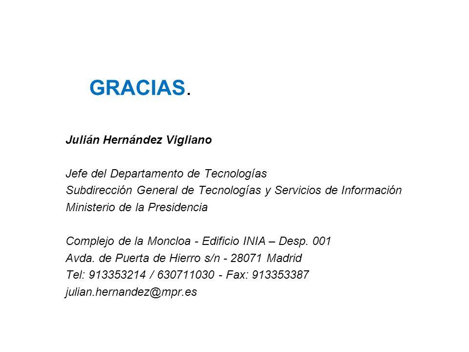 GRACIAS. Julián Hernández Vigliano