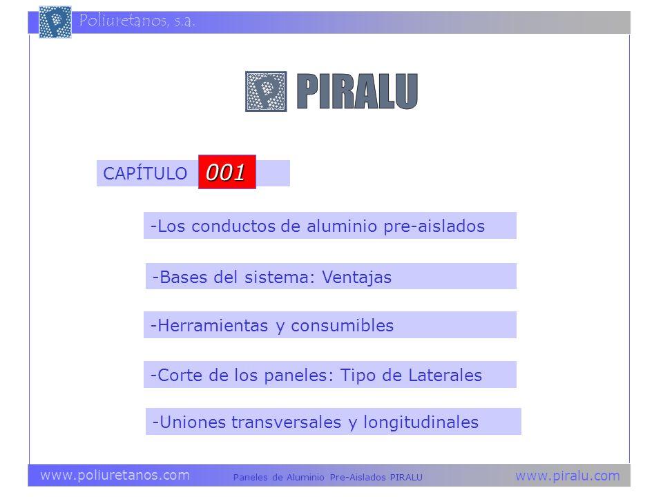 001 CAPÍTULO -Los conductos de aluminio pre-aislados