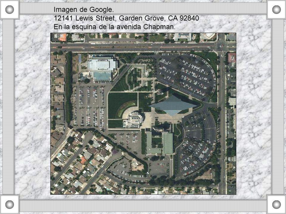 Imagen de Google. 12141 Lewis Street, Garden Grove, CA 92840 En la esquina de la avenida Chapman.
