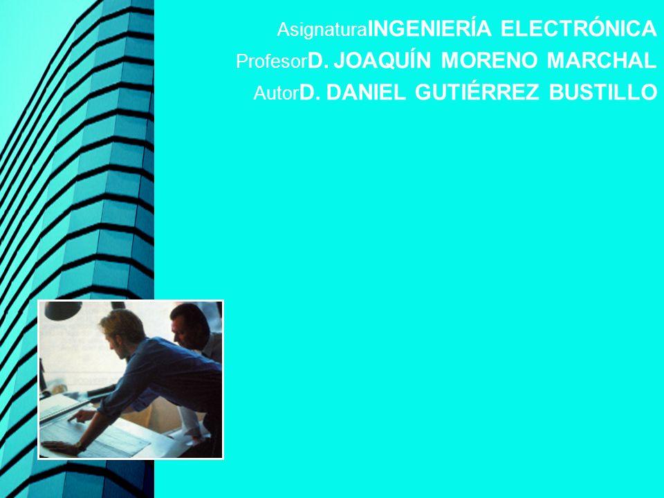 AsignaturaINGENIERÍA ELECTRÓNICA
