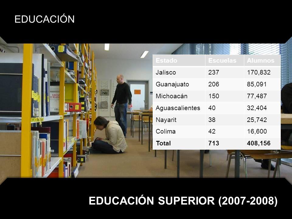 EDUCACIÓN SUPERIOR (2007-2008)