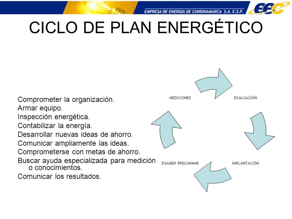 CICLO DE PLAN ENERGÉTICO
