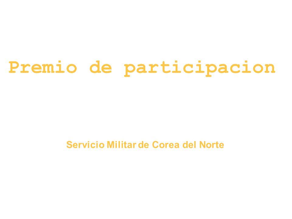 Premio de participacion