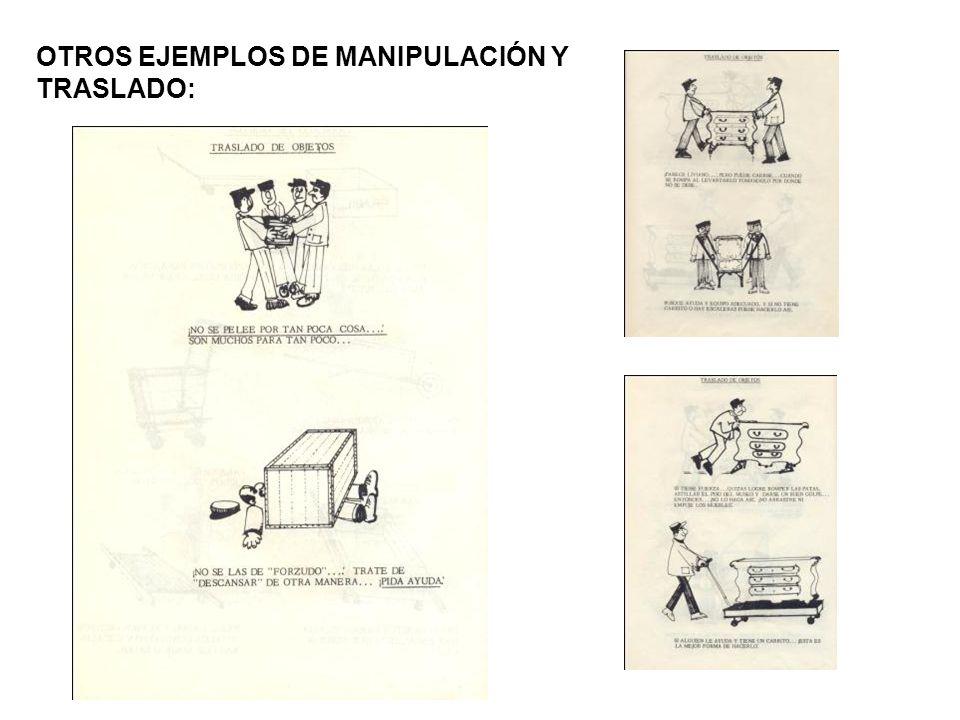 OTROS EJEMPLOS DE MANIPULACIÓN Y
