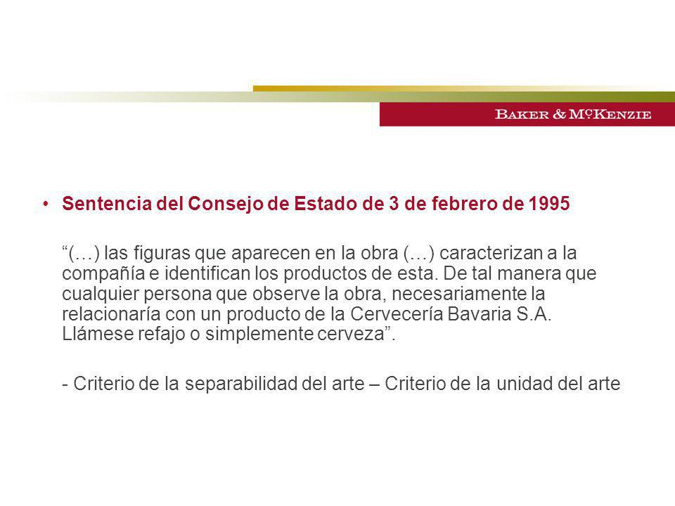Sentencia del Consejo de Estado de 3 de febrero de 1995