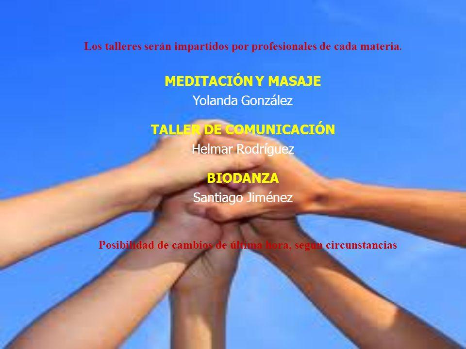 MEDITACIÓN Y MASAJE Yolanda González