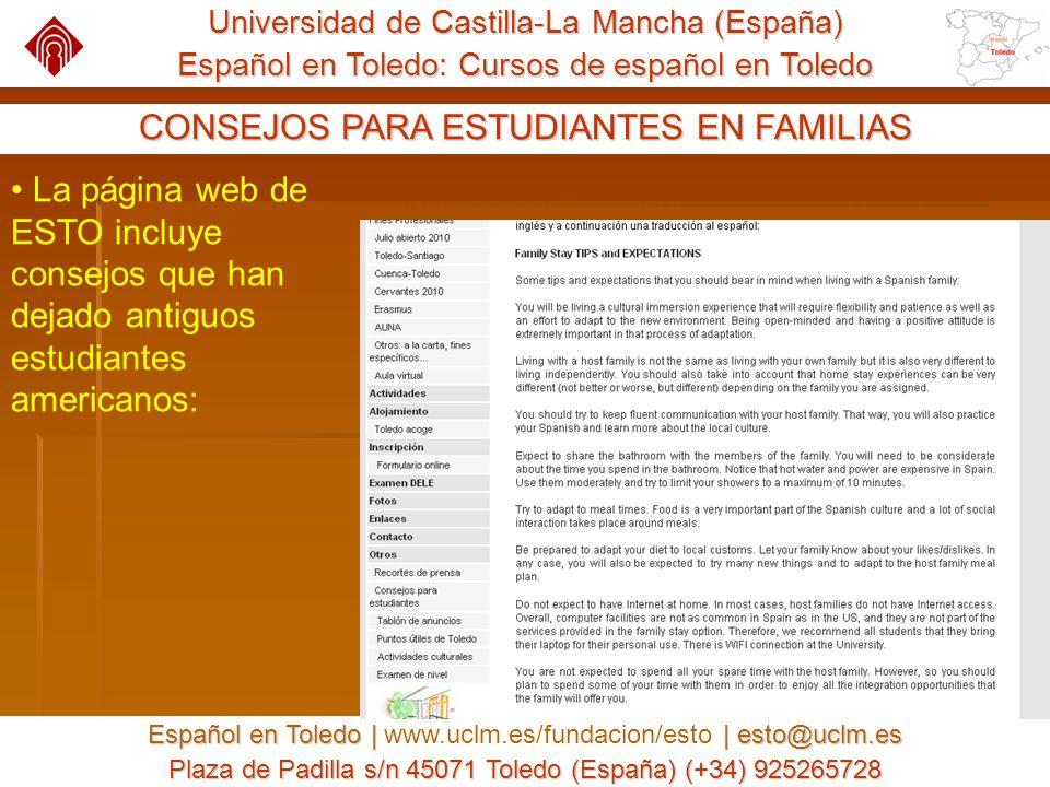 UCLM : Fundación General : Español en Toledo