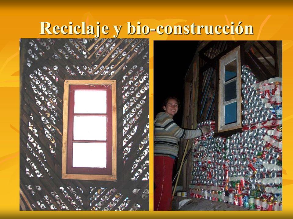 Reciclaje y bio-construcción