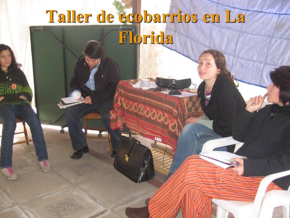 Taller de ecobarrios en La Florida