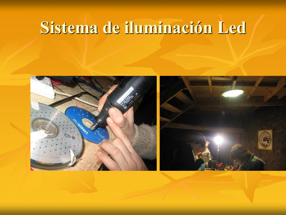 Sistema de iluminación Led