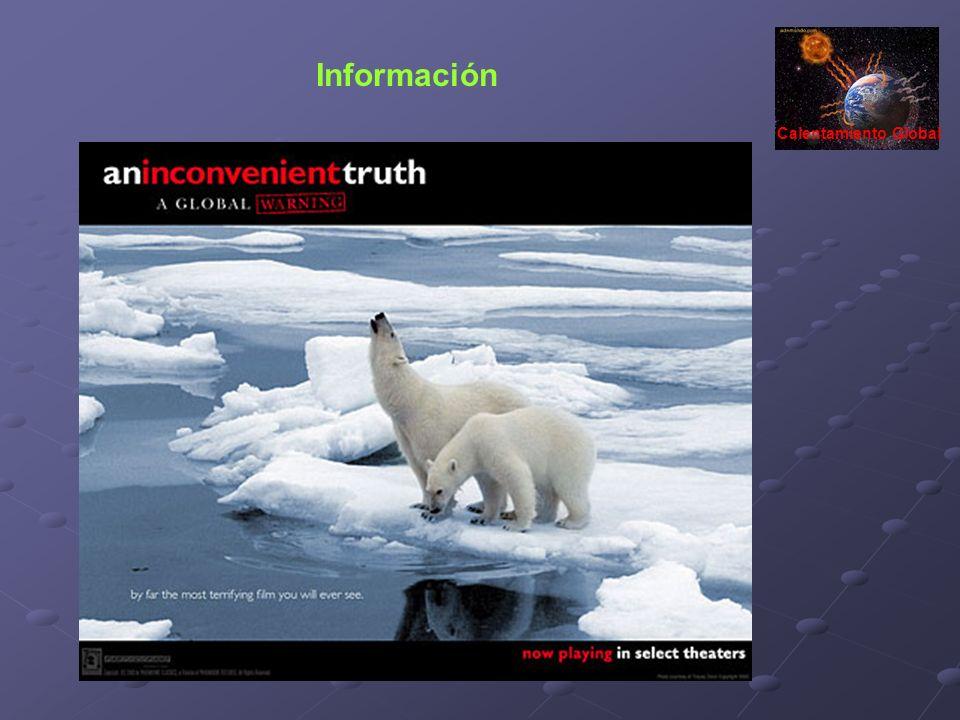 Información Calentamiento Global