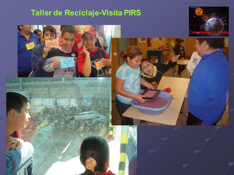 Taller de Reciclaje-Visita PIRS