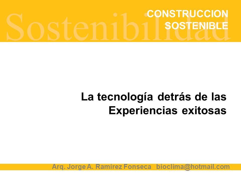 Sostenibilidad La tecnología detrás de las Experiencias exitosas