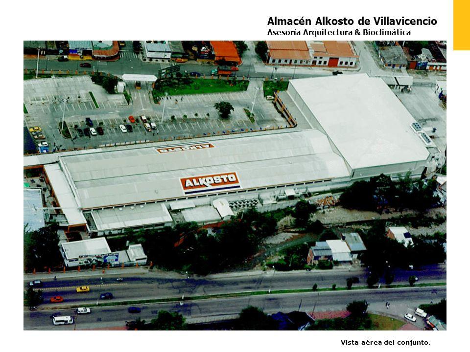 Almacén Alkosto de Villavicencio Asesoría Arquitectura & Bioclimática