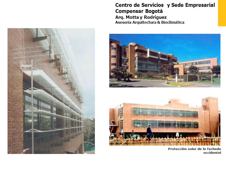Centro de Servicios y Sede Empresarial Compensar Bogotá Arq