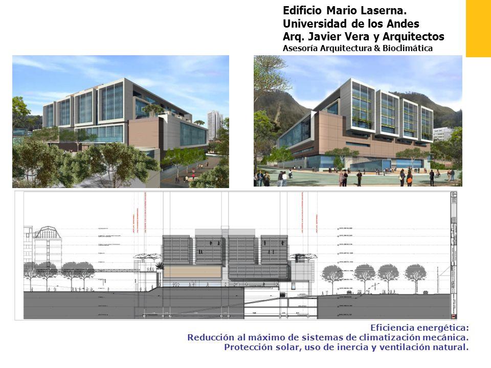 Edificio Mario Laserna. Universidad de los Andes Arq