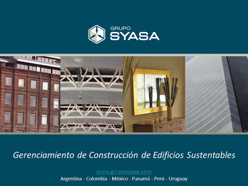 Gerenciamiento de Construcción de Edificios Sustentables