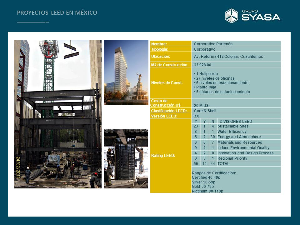 PROYECTOS LEED EN MÉXICO __________