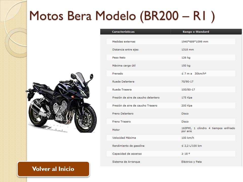 Motos Bera Modelo (BR200 – R1 )