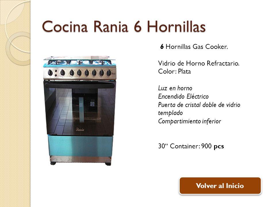 Cocina Rania 6 Hornillas