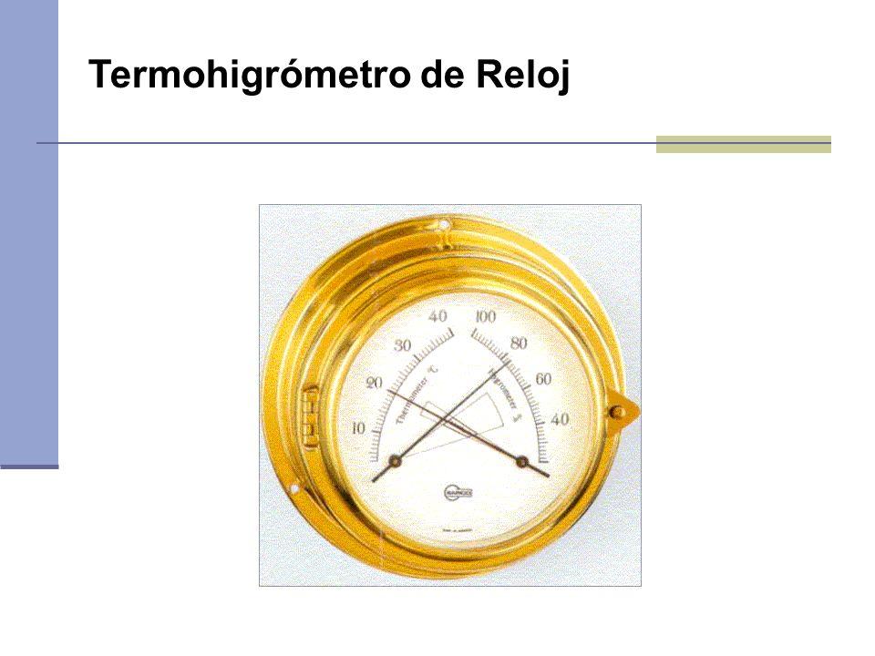 Termohigrómetro de Reloj