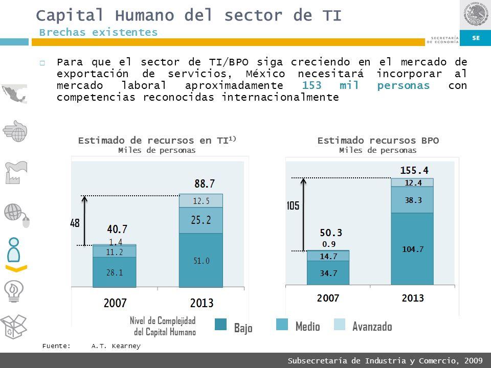 Capital Humano del sector de TI