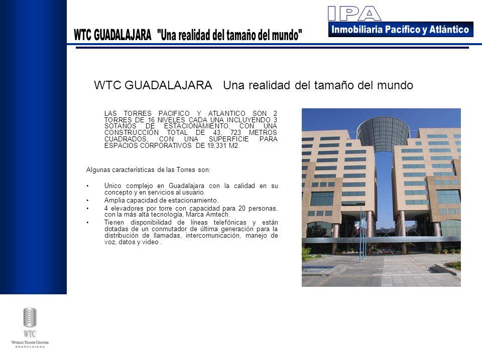 WTC GUADALAJARA Una realidad del tamaño del mundo