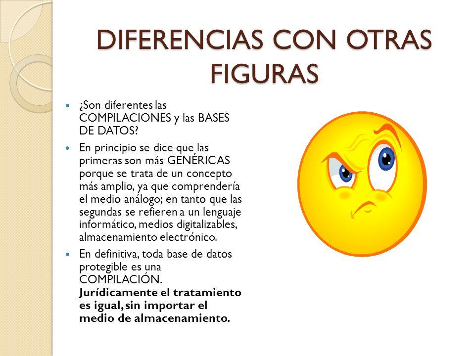 DIFERENCIAS CON OTRAS FIGURAS
