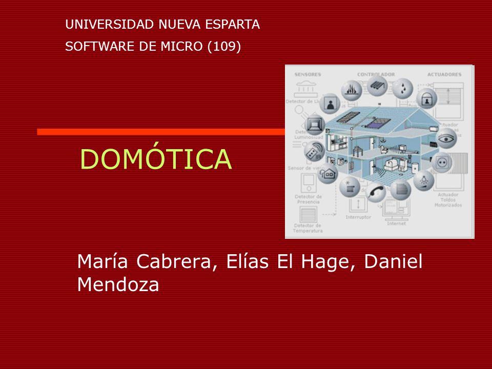María Cabrera, Elías El Hage, Daniel Mendoza