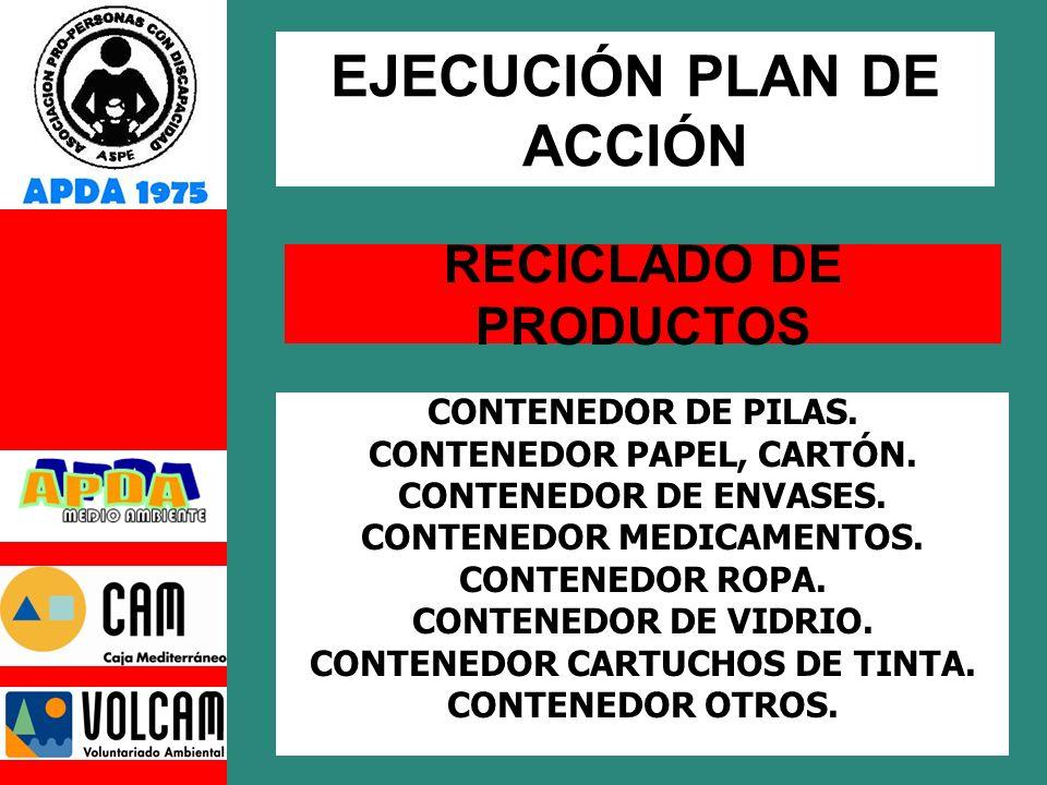 RECICLADO DE PRODUCTOS