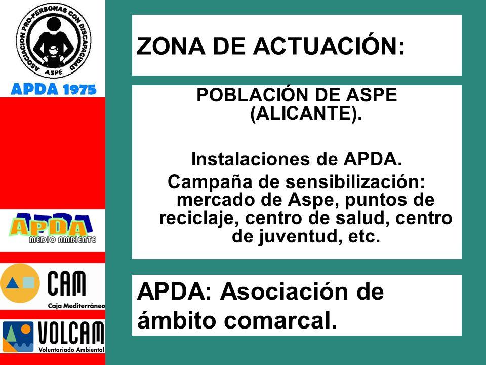 POBLACIÓN DE ASPE (ALICANTE).