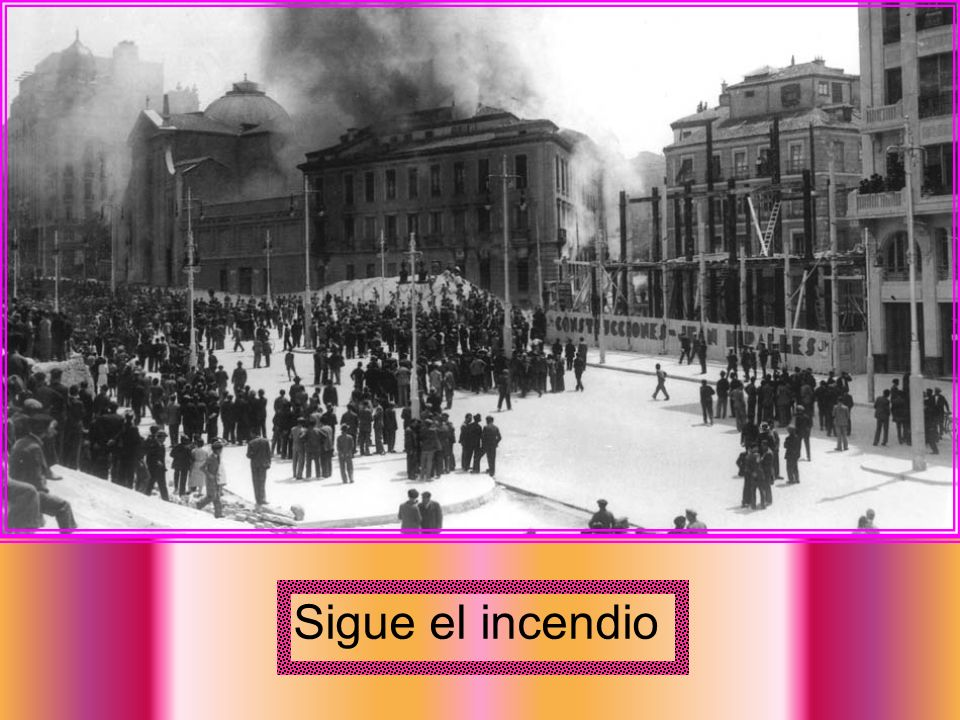 Sigue el incendio