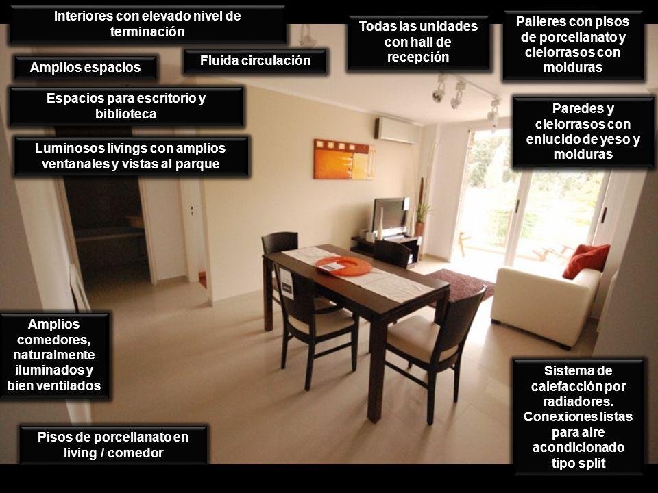Interiores con elevado nivel de terminación