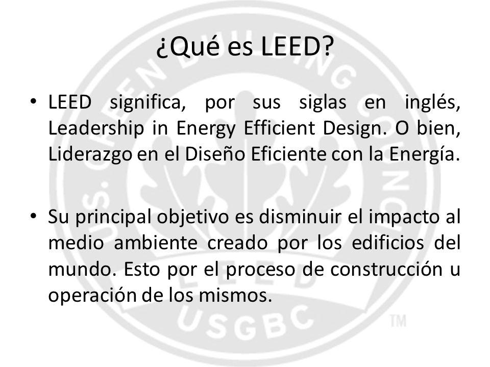 ¿Qué es LEED