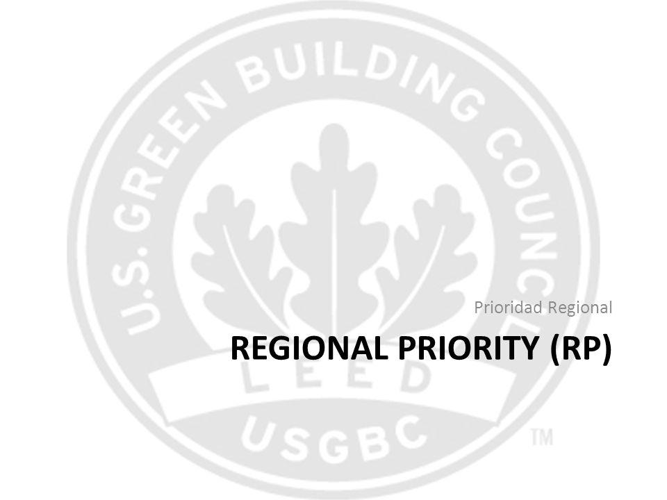 Regional Priority (RP)