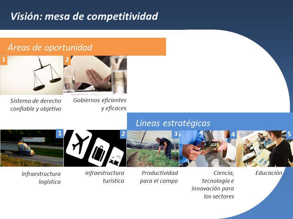 Visión: mesa de competitividad