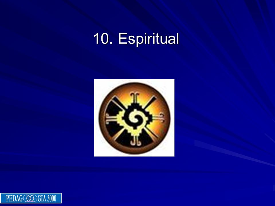 10. Espiritual