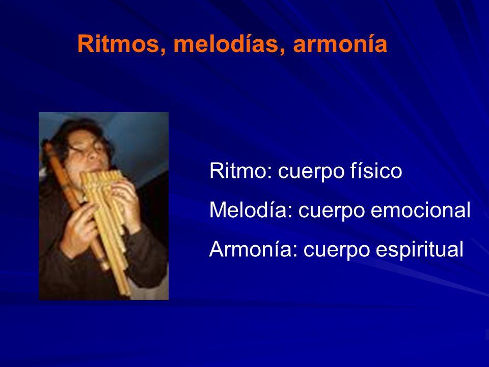 Ritmos, melodías, armonía