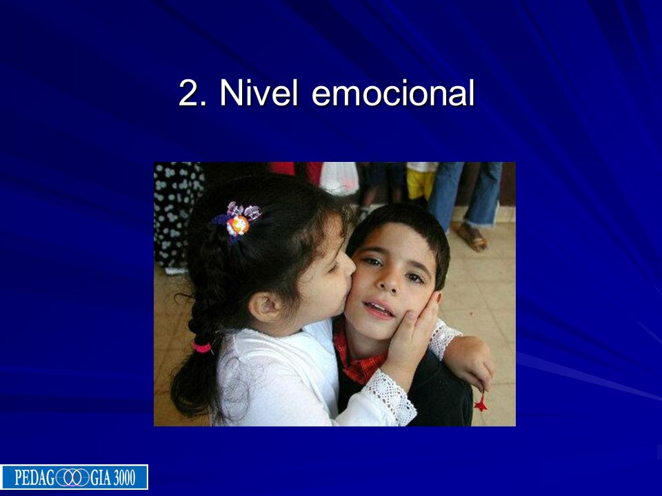 2. Nivel emocional