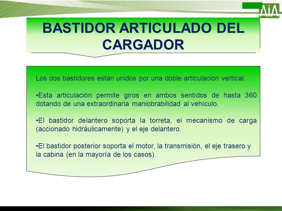 BASTIDOR ARTICULADO DEL CARGADOR