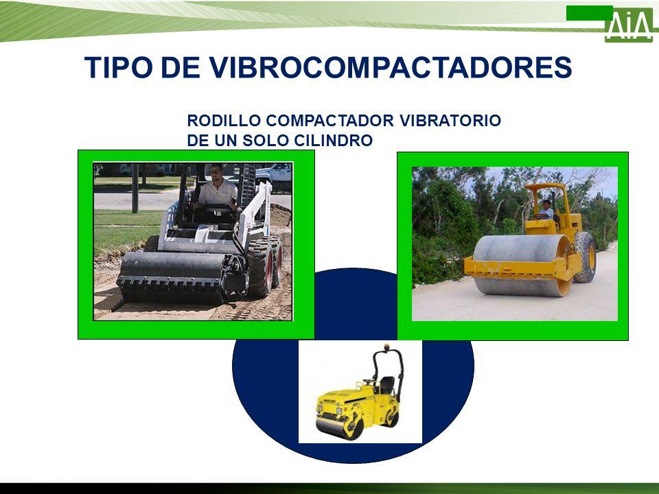 TIPO DE VIBROCOMPACTADORES