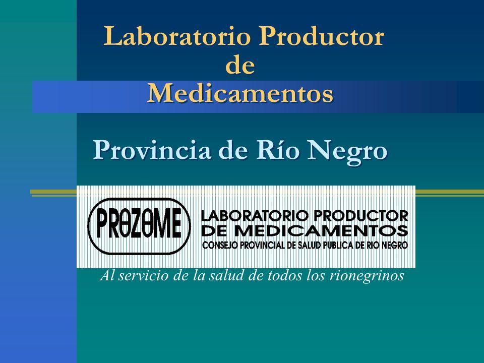 Laboratorio Productor de Medicamentos Provincia de Río Negro