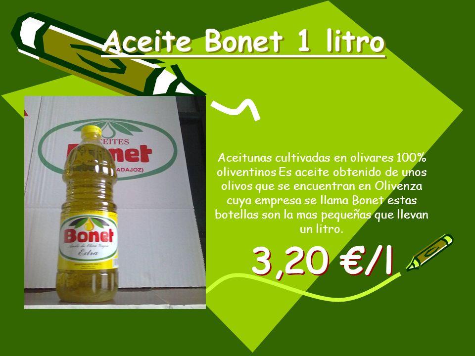 Aceite Bonet 1 litro