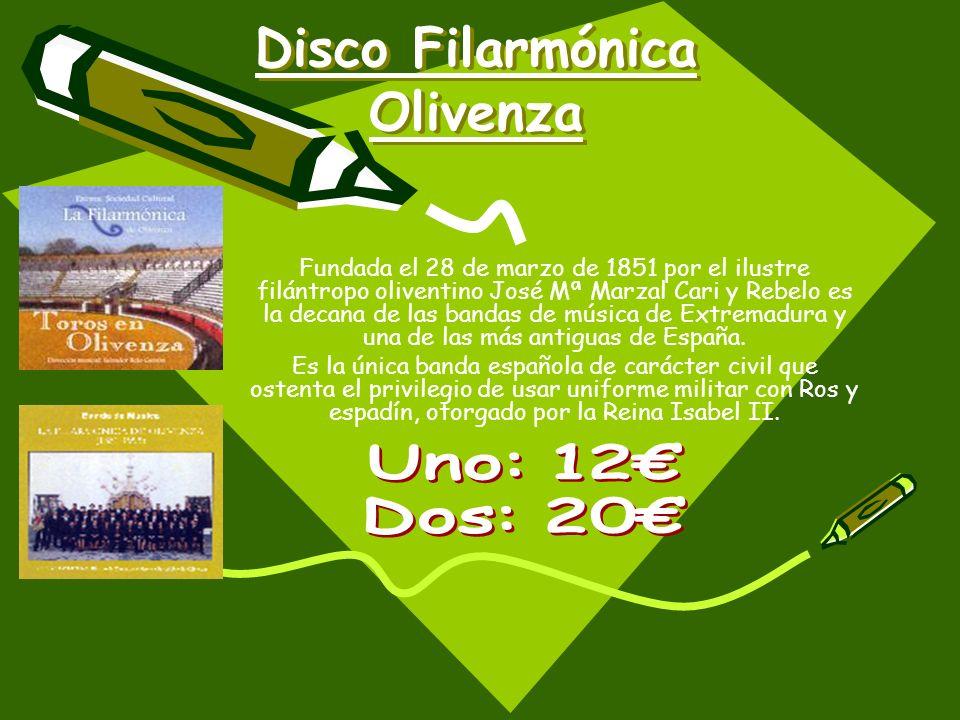 Disco Filarmónica Olivenza