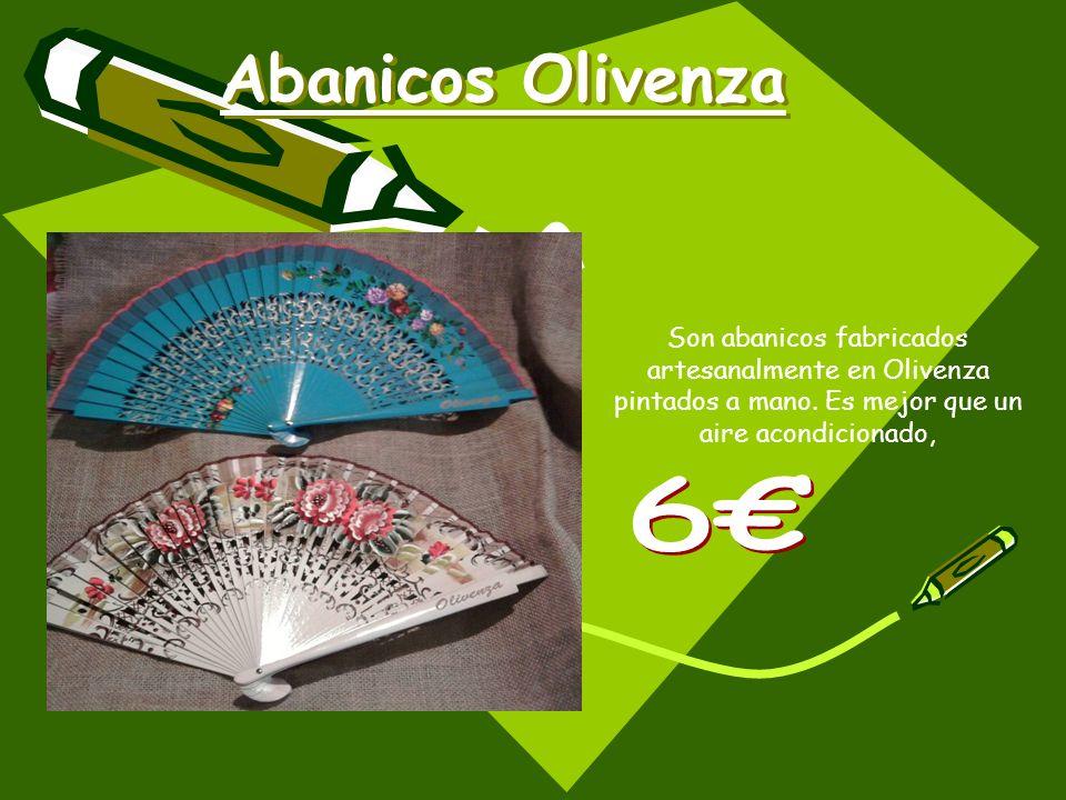Abanicos Olivenza Son abanicos fabricados artesanalmente en Olivenza pintados a mano. Es mejor que un aire acondicionado,