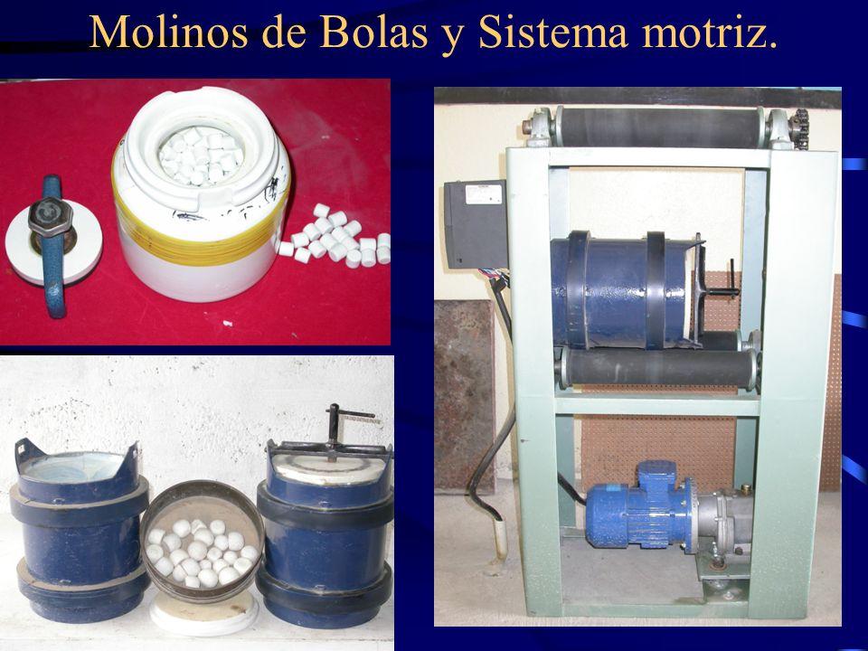 Molinos de Bolas y Sistema motriz.