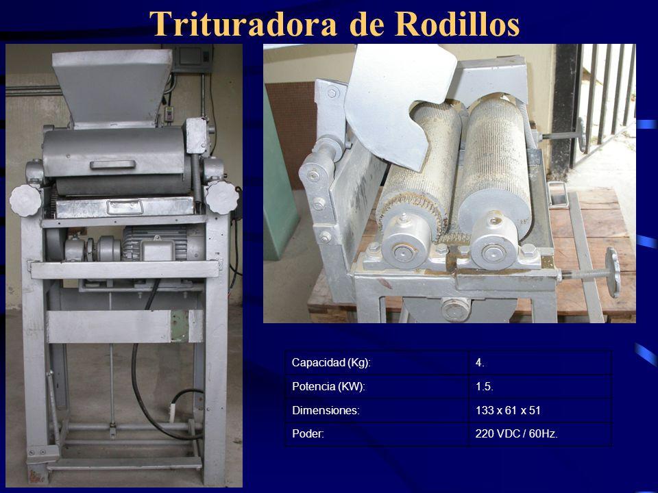 Trituradora de Rodillos