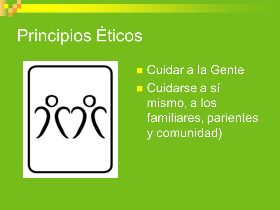 Principios Éticos Cuidar a la Gente